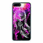 1001 Coques Coque silicone gel Apple IPhone 8 Plus motif Dreamcatcher Rose