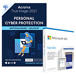 Pack Acronis True Image Advanced 250 Go + Microsoft 365 Personnel - Licence 1 an - A télécharger
