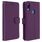 Avizar Etui folio Violet pour Honor 8A , Huawei Y6 2019 , Huawei Y6S