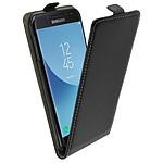 Avizar Etui à clapet Noir pour Samsung Galaxy J7 2017