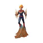 Marvel Comic Gallery - Statuette Binary Captain  28 cm