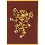 Game of Thrones - Carte Quilled House Lannister