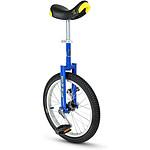 "Qu-ax Monocycle  Luxus 18"" Bleu"