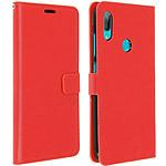 Avizar Etui folio Rouge pour Huawei Y7 2019