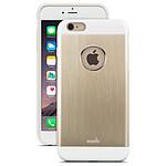 MOSHI Coque aluminium iGLAZE ARMOUR iPhone 6 Plus Gold
