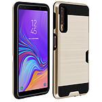Avizar Coque Dorée Bi-matières pour Samsung Galaxy A7 2018
