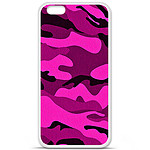 1001 Coques Coque silicone gel Apple iPhone 6 / 6S motif Camouflage rose