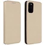 Avizar Etui folio Dorée pour Samsung Galaxy S20 Plus