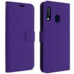 Avizar Etui folio Violet pour Samsung Galaxy A20e