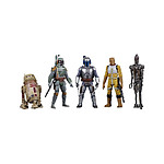 Star Wars Celebrate the Saga - Pack 5 figurines Bounty Hunters 10 cm