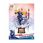 Marvel Comics - Diorama D-Stage Captain Marvel 16 cm