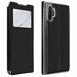 Avizar Etui folio Noir pour Samsung Galaxy Note 10 Plus