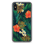 1001 Coques Coque silicone gel Apple iPhone XS Max motif Tropical