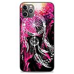 1001 Coques Coque silicone gel Apple iPhone 11 Pro Max motif Dreamcatcher Rose