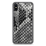 1001 Coques Coque silicone gel Apple iPhone XS Max motif Texture Python