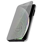 Avizar Etui folio Argent pour Apple iPhone XS Max