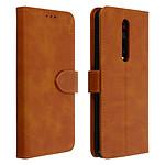 Avizar Etui folio Camel Éco-cuir pour Xiaomi Mi 9T , Xiaomi Mi 9T Pro