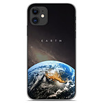 1001 Coques Coque silicone gel Apple iPhone 11 motif Earth