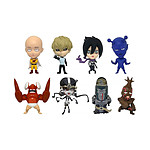 One Punch Man - Pack 8 figurines 16d Collectible Figure Collection Vol. 1 6 cm