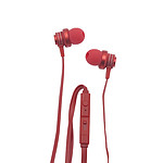 Apm Ecouteurs Intra-Auriculaires Rouge