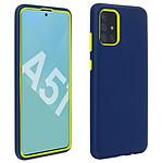 Avizar Coque Bleu Nuit pour Samsung Galaxy A51