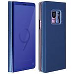 Avizar Etui folio Bleu pour Samsung Galaxy S9