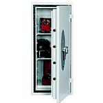 Phoenix Coffre-fort sécurité ignifuge galaxy HS1123E serrure électronique 90L blanc