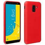 Avizar Coque Rouge pour Samsung Galaxy J6