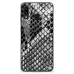 1001 Coques Coque silicone gel Samsung Galaxy A20e motif Texture Python