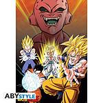 Dragon Ball Z - Poster Buu Vs Saiyans (91,5 X 61 Cm)