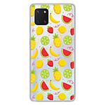 1001 Coques Coque silicone gel Samsung Galaxy Note 10 Lite motif Fruits tropicaux