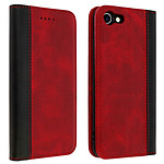 Avizar Etui folio Rouge pour Apple iPhone 7 , Apple iPhone 8 , Apple iPhone SE 2020