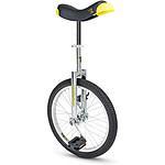 """Qu-ax Monocycle  Luxus 20"""" Chrome"""