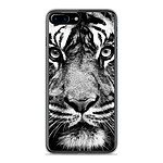 1001 Coques Coque silicone gel Apple IPhone 8 Plus motif Tigre blanc et noir