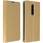 Avizar Etui folio Dorée Éco-cuir pour Xiaomi Mi 9T , Xiaomi Mi 9T Pro