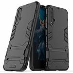Lapinette Coque Anti Chocs pour Huawei Nova 5T Modèle Iron Noir
