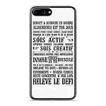 1001 Coques Coque silicone gel Apple IPhone 8 Plus motif Citation 11