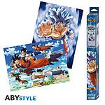 Dragon Ball -  Super Set 2 Chibi Posters Goku & Amis (52 X 38 Cm)