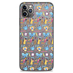 1001 Coques Coque silicone gel Apple iPhone 11 Pro Max motif Happy animals