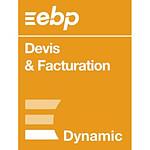 EBP Devis & Facturation DYNAMIC - Licence 1 an - 1 poste - A télécharger