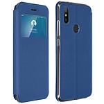 Avizar Etui folio Bleu pour Xiaomi Mi A2