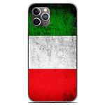 1001 Coques Coque silicone gel Apple iPhone 11 Pro motif Drapeau Italie