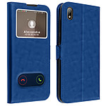 Avizar Etui folio Bleu pour Huawei Y5 2019 , Honor 8S