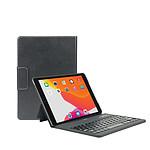 Mobilis Coque de protection folio avec clavier Bluetooth français iPad 10.2'' (8th/7th gen) - Noir