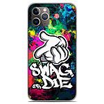1001 Coques Coque silicone gel Apple iPhone 11 Pro motif Swag or die