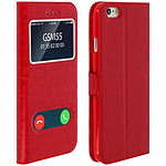 Avizar Etui folio Rouge pour Apple iPhone 6 , Apple iPhone 6S