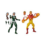 X-Men Marvel Legends - Pack 2 figurines 's Rogue & 's Pyro 15 cm