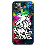 1001 Coques Coque silicone gel Apple iPhone 11 Pro Max motif Swag or die