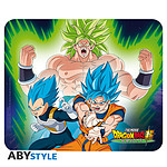 Dragon Ball -  Broly Tapis De Souris Souple Broly Vs Goku & Vegeta