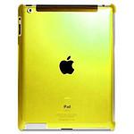 PURO  Coque CRYSTAL FLUO New iPad/iPad2  Jaune